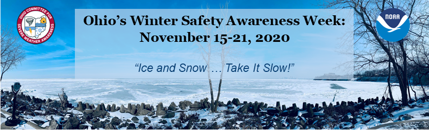 Ohio's Winter Safety Awareness Week: November 15-21, 2020